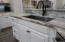 New granite leathed counter tops