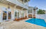 Back Patio with Heated Saltwater Pool & Swim-up Bar