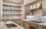 Gourmet Kitchen with Custom Backsplash & Thermador Stove