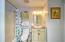 Hallway and Guest Bathroom