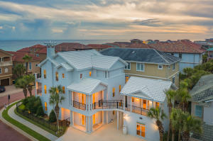 CHECK OUT THE VIDEO TOUR. Awe-inspiring 5 bedroom/6 bath & 5900 SQFT Beach House is located in the exclusive gated community of Destiny By The Sea, and would make a perfect full time residence or incredible investment opportunity