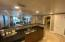 Kitchen is efficient and offers a full array of stainless steel appliances (original).