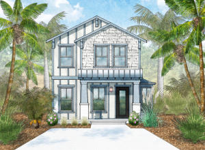 rendering of home to be built
