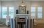 Dining Area with Designer Chandelier (Horchow Dallas)