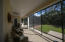 Screened back porch sitting area Reverse Angle