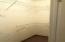 Bedroom #4 walk-in closet