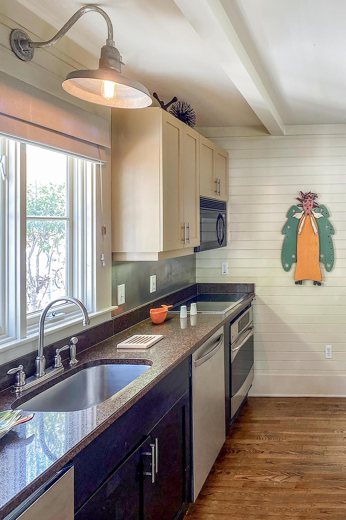 Downstairs Kitchen View 2 MLS