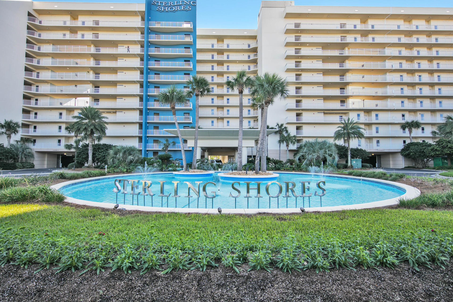 Large 3 bedroom, LOW FLOOR in Sterling Shores!!  This condo is offered fully furnished and has several recent updates within the last couple of years including new luxury plank vinyl flooring, new granite countertops & back splash in the kitchen and new stainless appliances. This large 3 bedroom 2 bath unit is located just across from the beach.  It also features a large balcony.  Don't like dealing with elevators?  This could be the unit for you!  Located on the 2nd floor you have the option of a quick walk down just one flight of stairs if you are in a hurry. Sterling Shores amenities include private beach, beach club, large 4500 sq. ft. pool along with a 2nd gulf front pool.  There is also movie room, fitness room and gated entry to the property.  Sterling Shores is centrally located right in the heart of Destin and is within walking distance to several restaurants and attractions.  Call today!