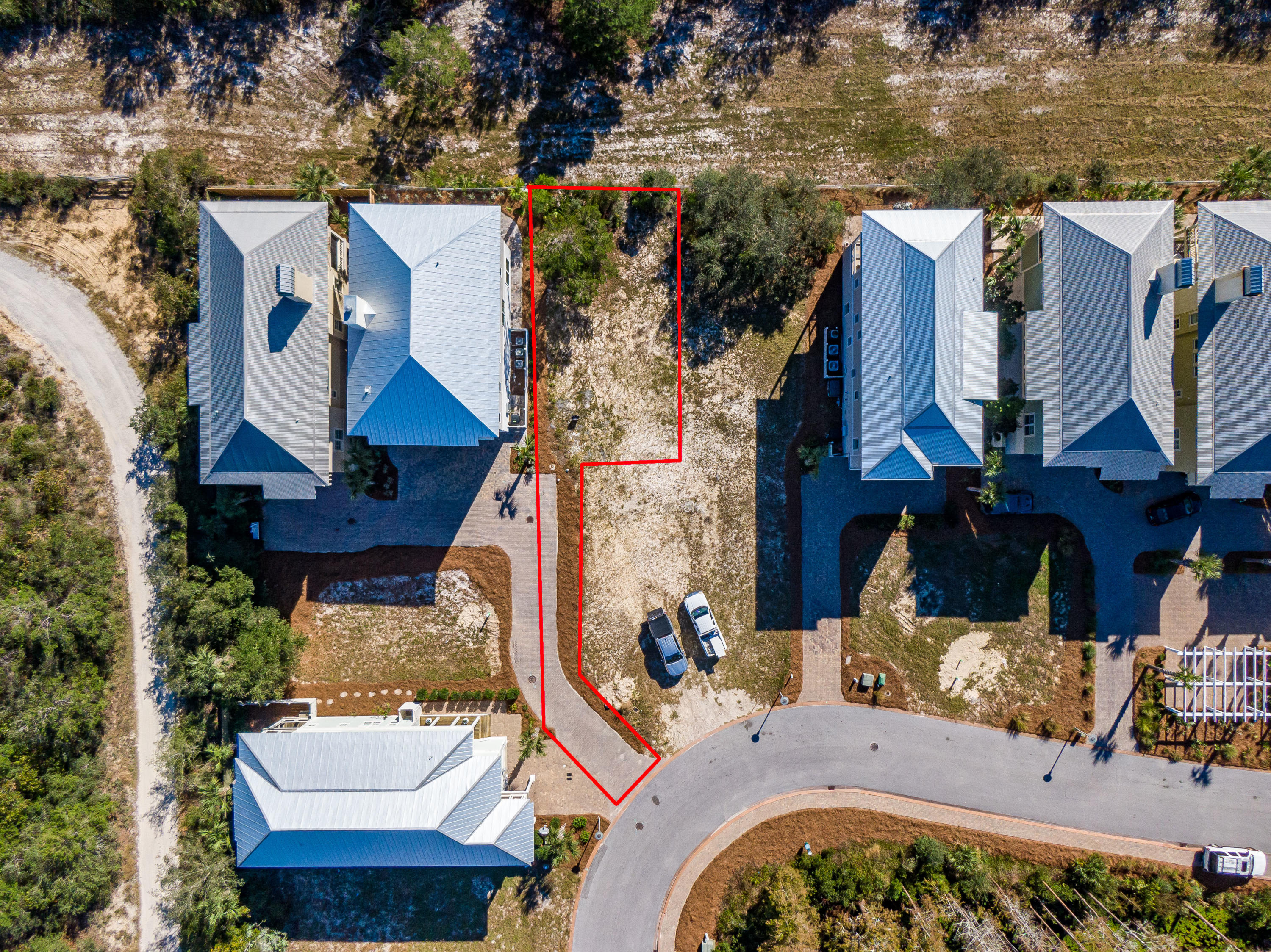 Lot 19 Cypress Dunes Aerial Marked-5