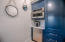 GUEST HOUSE KITCHEN WITH CONVECTION OVEN/MICROWAVE AND REFRIGERATOR/FREEZER