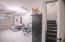 STAIRWAY INSIDE GARAGE TO FLEX SPACE ABOVE/GYM
