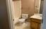 Guest Bathroom after vacant