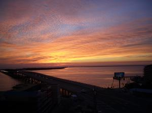 Enjoy incredible sunsets year round from your balconies!