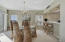 Unit #202 White Cliffs - Dining Room with gulf front views