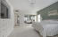 Unit #202 White Cliffs - Master Bedroom with new custom built in cabinets