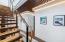 Custom Floating Stairway to Main Living Area