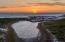 Draper Lake at Sunset