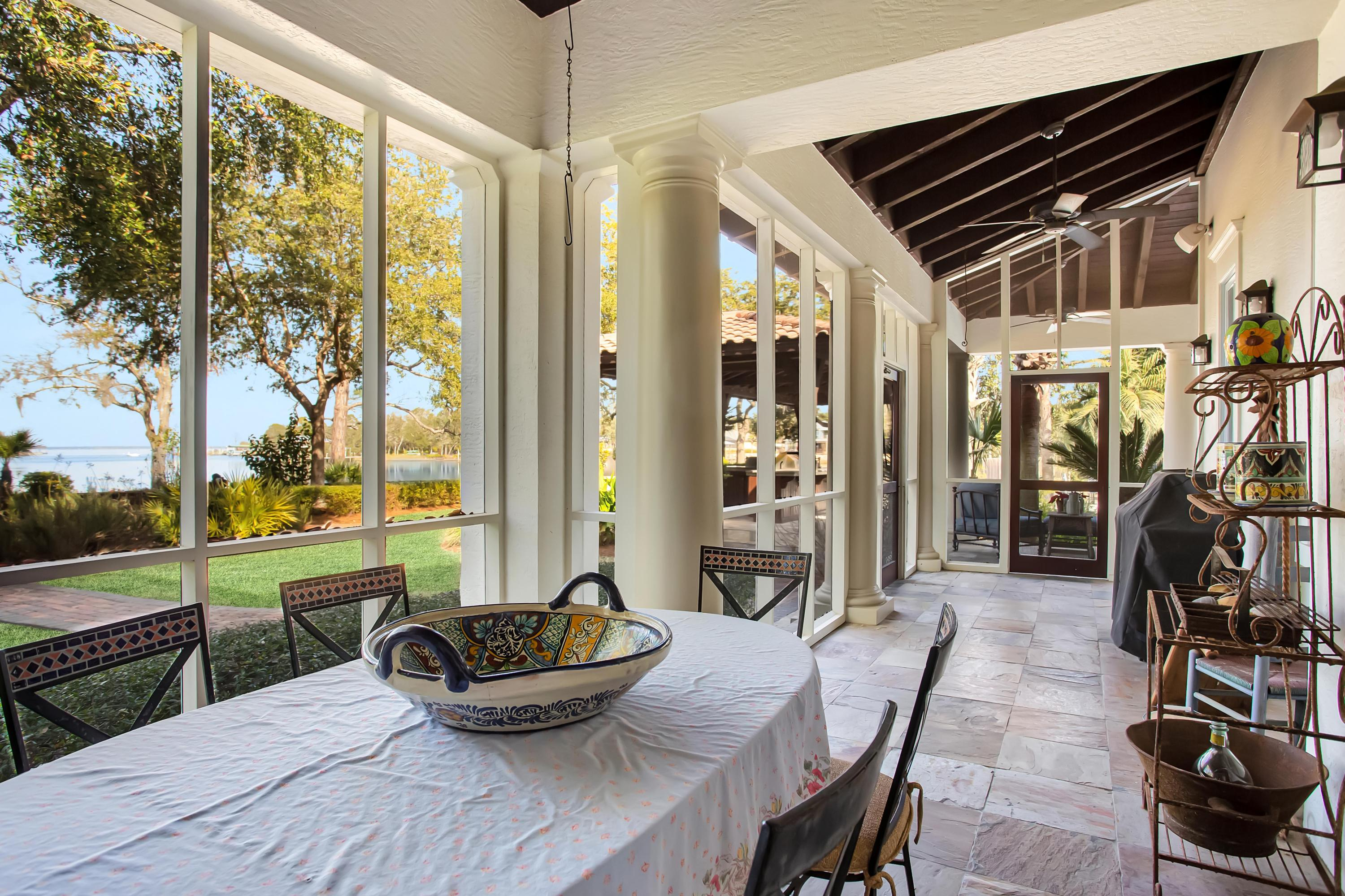 Fully Screened Porch