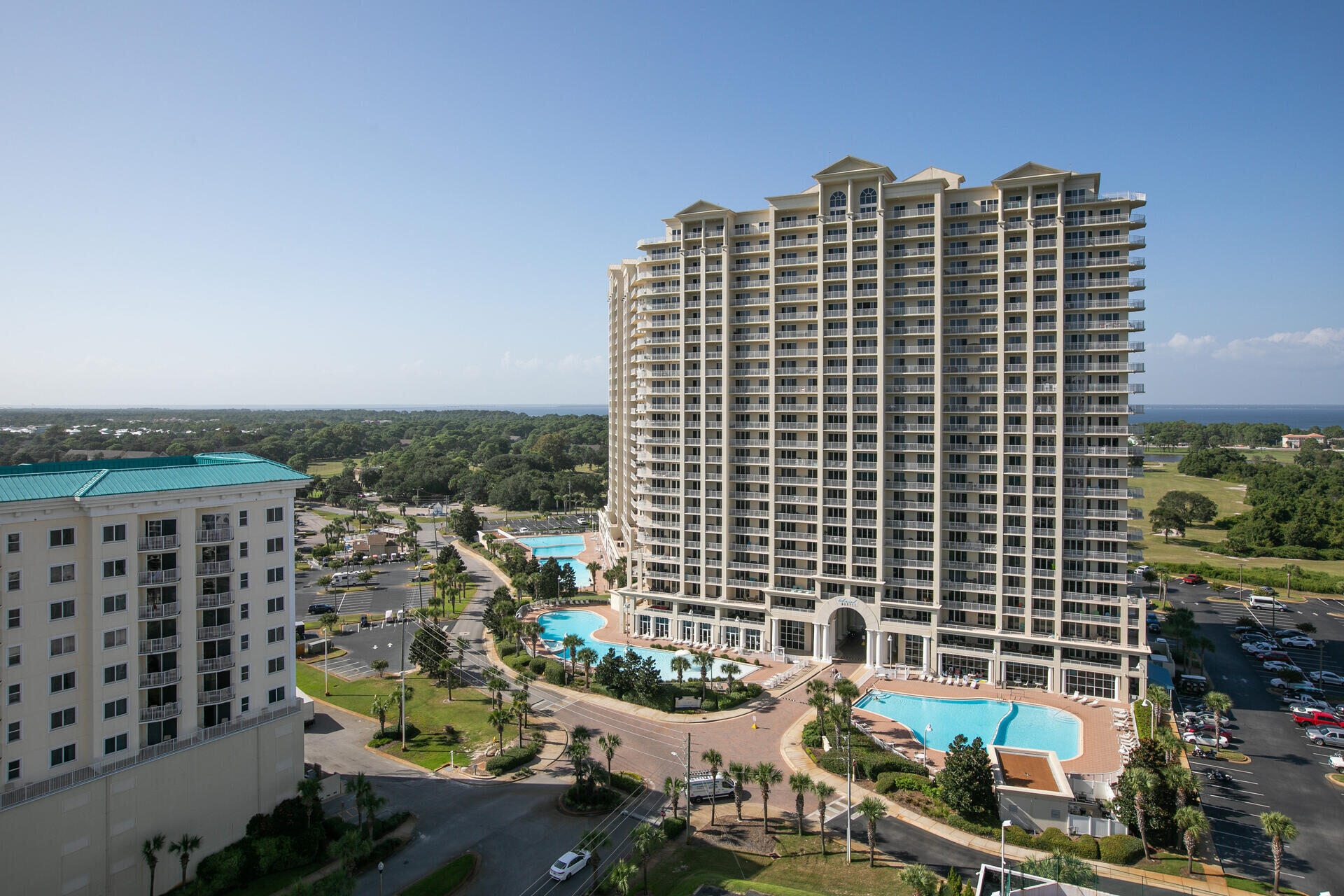 14th floor unit affords you wonderful views of the Gulf of Mexico!   2 bedroom/2 bath unit, with tile and laminate flooring throughout, which works great for a beach property!  Granite and quartz countertops in kitchen/baths, stainless appliances in kitchen.  This property is completely turnkey and is being sold fully furnished with just a few minor exclusions.  Please reach out today to arrange your private showing!
