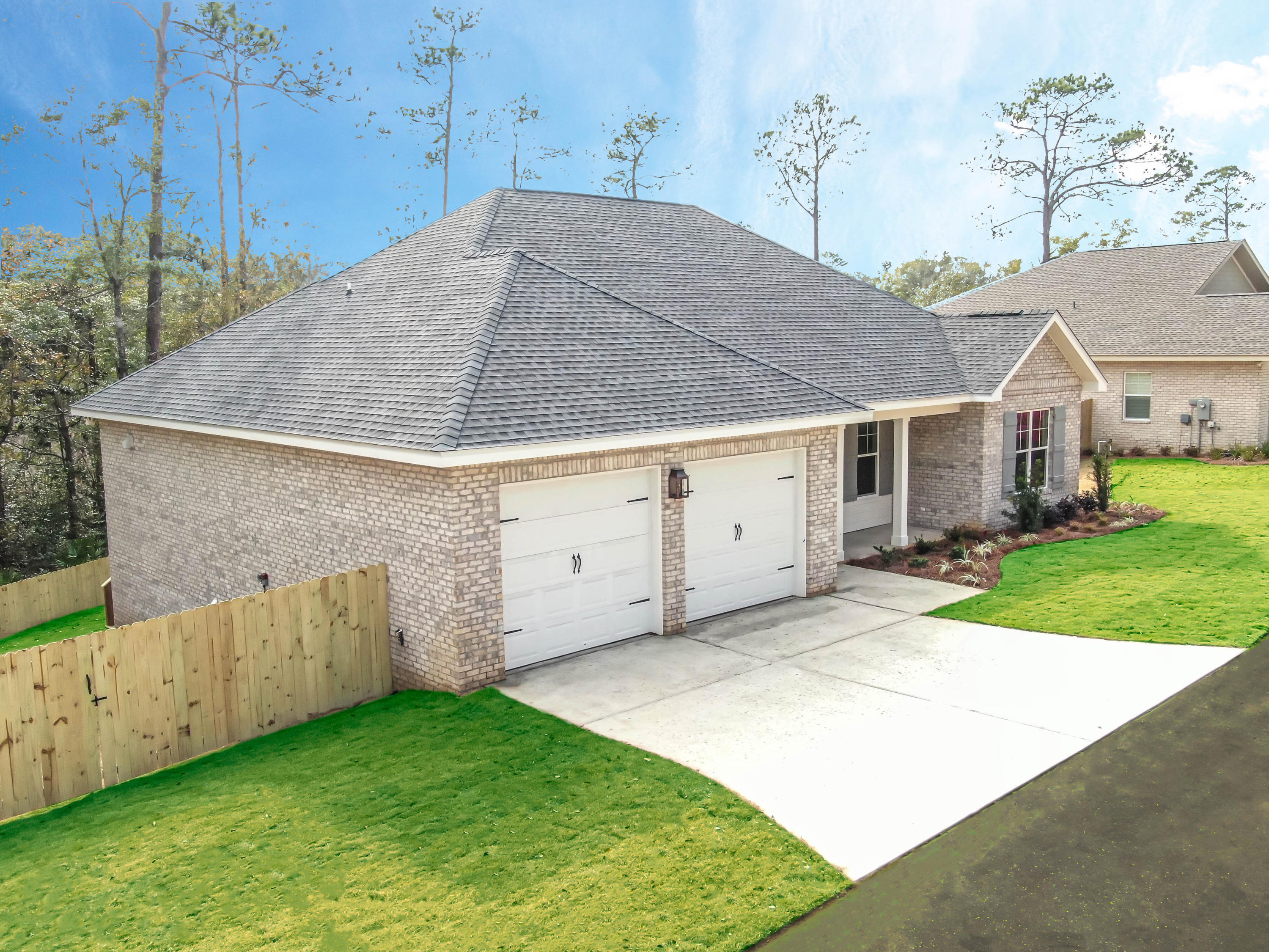 New Construction home is the last of three in this boutique neighborhood.  If location is important, here is your new build.  Just a few blocks from Niceville High School, shopping, and restaurants.This Craftsman style home with 4 bedrooms and 3 full baths will sit at the end of the road on a large private lot with room for optional pool, batting cage, or outdoor kitchen.CoPilot Properties is the VA approved builder and they build beautiful homes.  The oversized lot provides for a quiet residence with old pines and a natural area on two sides.Pictures are from previous build to show sample finishes.  Finishes that come standard are engineered hardwood floors throughout, stainless appliances with gas, shiplap accent walls, 9' and 10' ceilings, and high end finishes throughout.