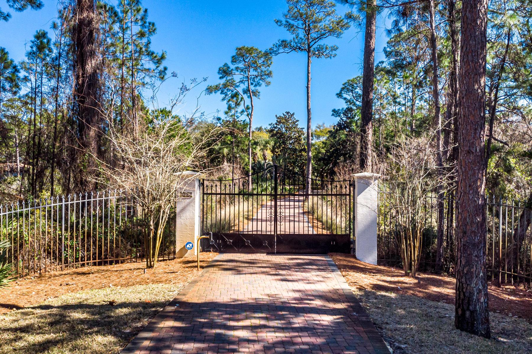 Two Private Gates