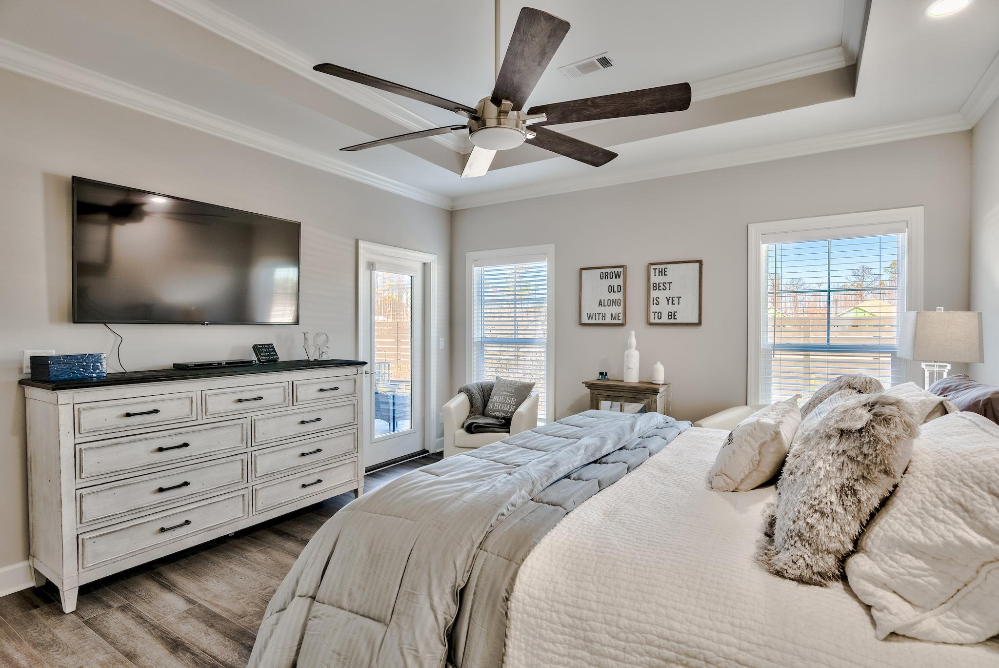 Master Bedroom walks-out to Porch