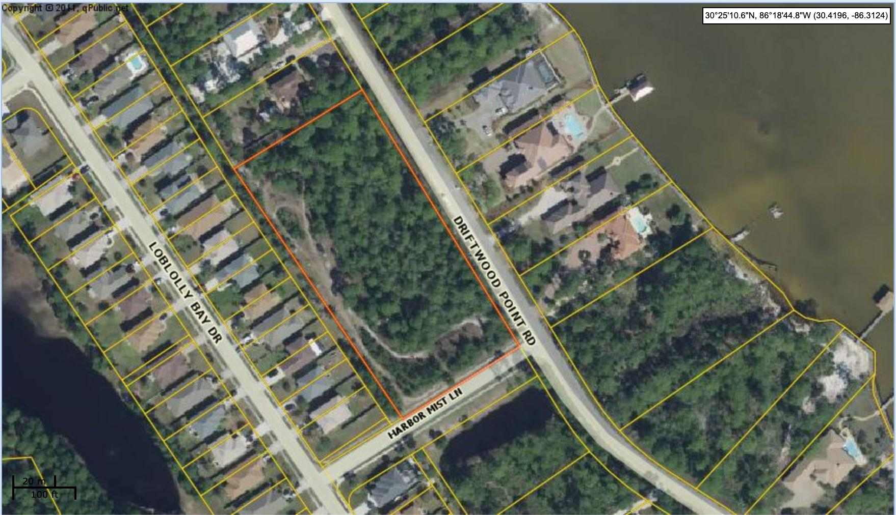Lot 29-H County Parcel Map