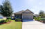 2-car garage & 4-car driveway