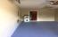 painted gargage walls & floor