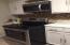 Stainless steel & black appliances