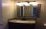 New vanity light fixture and mirror