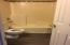 Vinyl flooring in upstair bathroom