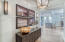 """After a quick trip up the elevator and a quick """"smart key"""" click, you will find yourself in this luxurious entryway. This area casts a great first impression and sets the the tone for the rest of the residence."""