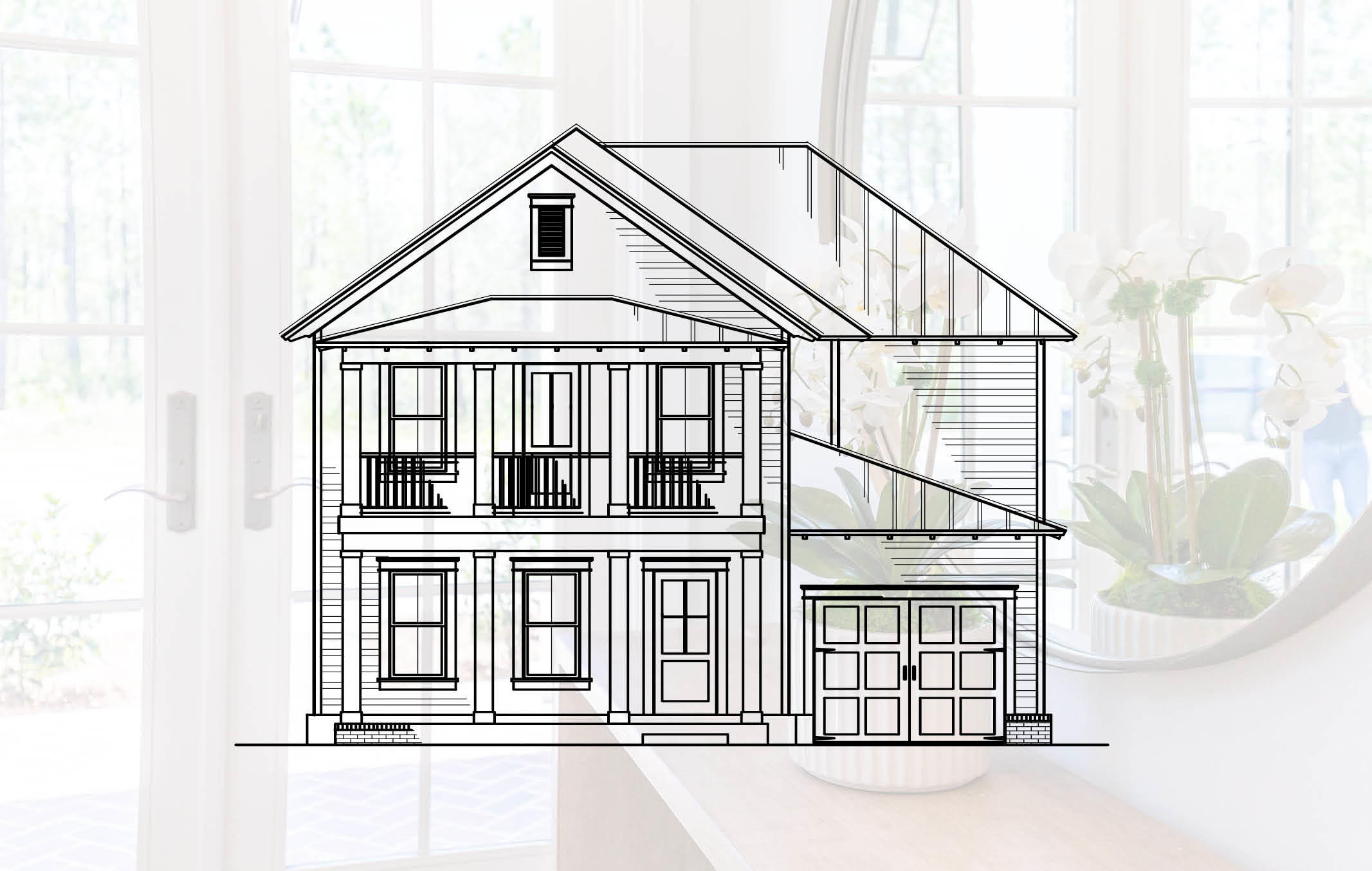 This custom Live Oak plan at Cottage Grove features 4 bedrooms, 4.5  baths, media room, attached 1-car garage and PRIVATE POOL! This home offers buyers the unique opportunity and  flexibility of selecting colors, flooring, cabinets and countertops! This is one of 4 premium homesites surrounded by nature preserve for added privacy. The spacious first floor has 10' ceilings with an open-concept plan including a kitchen with large island, built-in wine cooler, spacious living room and a first floor master suite!  Interior features include KitchenAid stainless steel appliances with 36' cooktop and vent hood, your choice of quartz or granite countertops, custom cabinetry, crown molding throughout, and engineered hardwood flooring with tile in bathroom and laundry. Exterior features include a brick paver driveway, metal roof, irrigation system, French style gas lantern, and brick & fiber cement siding.  The Cottage Grove neighborhood includes a community pool with pool house and is just steps away from the Ed Walline beach access along with shopping, dining, and entertainment at the Gulf Place Town Center. There will be a $325 irrigation tap fee for the new community irrigation system - HOA includes homeowner's lawn maintenance and irrigation!