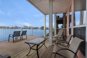 Extra Large Partially Covered Upstairs Deck