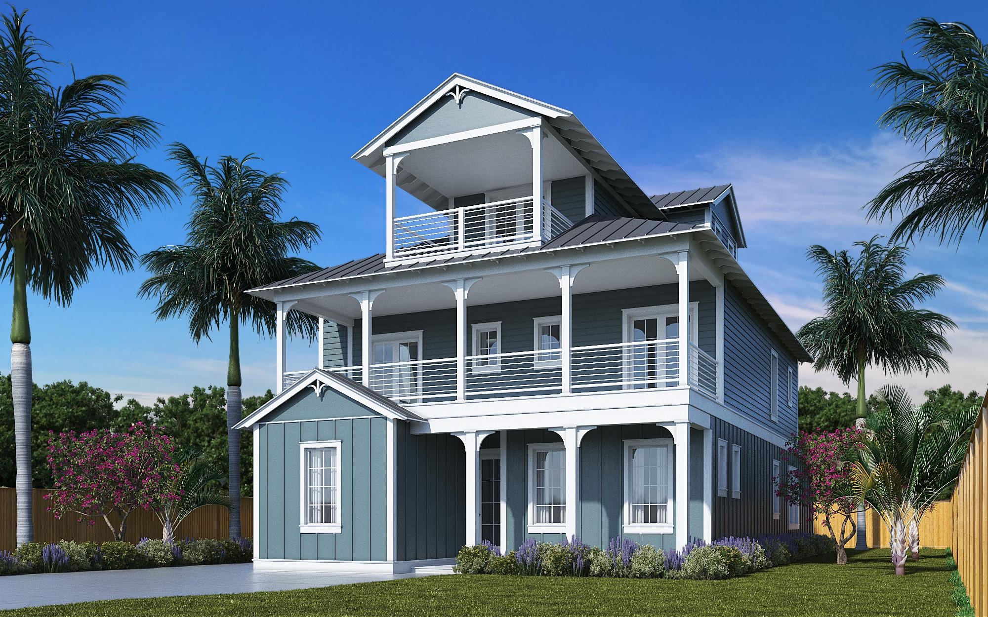 BRAND NEW beach home in the coveted Frangista Beach community. The spacious home with master on main features 8 bedrooms/8 full baths, with a half bath on the 2nd out of 3 floors. Home is being developed to be a rental machine with $175k of projected income. Will feature a large private heated swimming pool, deeded beach access, 2 separate living rooms, and each of the 8 bedrooms have their own ensuite bathroom. Estimated completion by end of Summer 2021. **Photos provided are similar but do not reflect actual images of this home**.