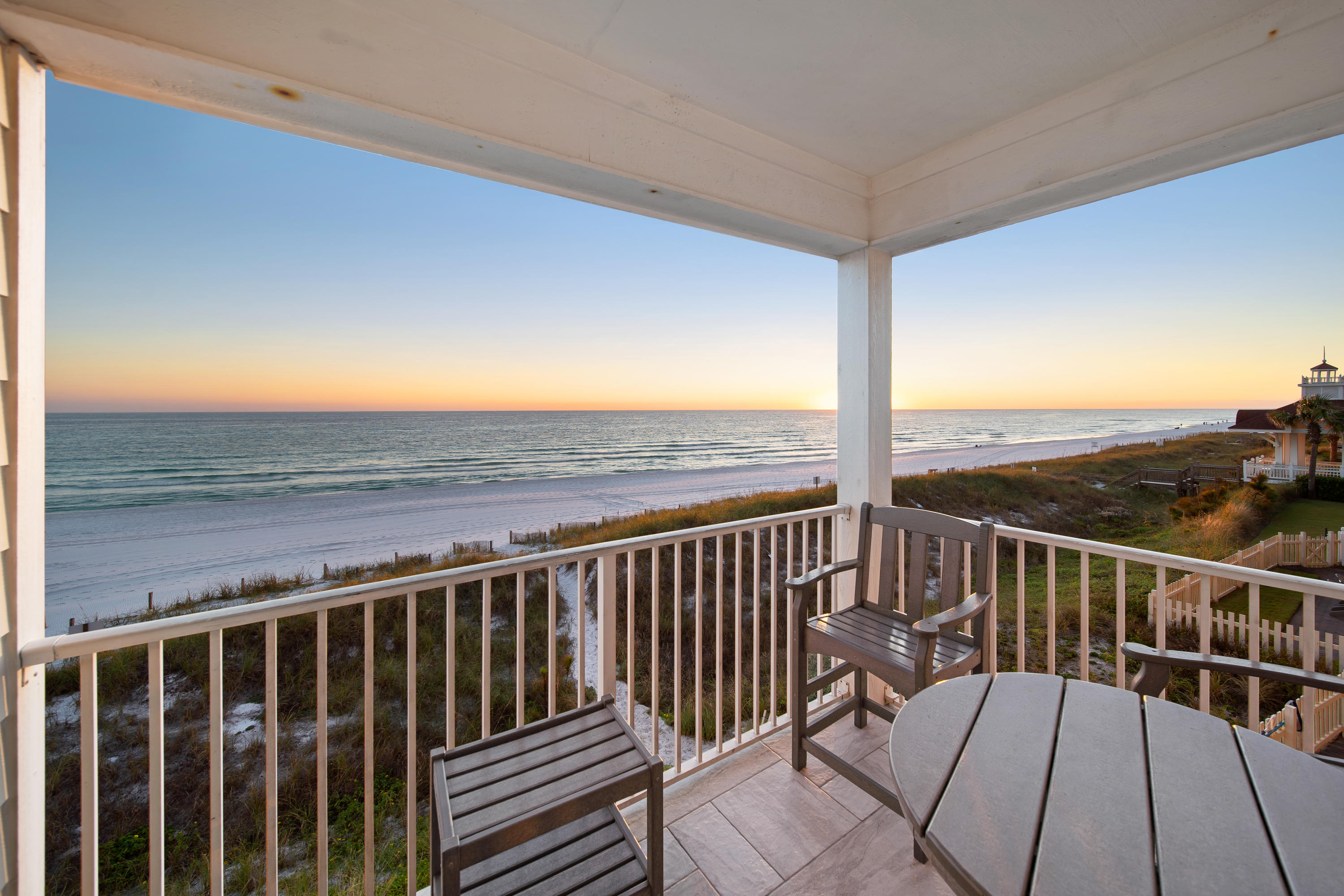 Over $230,000 of rental income on the books for 2021!  This recently renovated, gulf front home with breathtaking views is located in the private gated community of Shipwatch.  The first floor offers a spacious layout with the main-living area and dining area. The king suite is also on the first floor with french doors leading to the back patio and gorgeous views of the gulf. The second floor boasts a second king suite with a shared bath, living area, and second kitchen. On the third floor is yet another king suite. Each floor has its own deck and the courtyard features a splash pool, grill area and lounging space. The carriage house includes an open floor plan large enough for a king and queen bed as well as a wet bar and private bath. This home is located just a few minutes of the Silver Sands outlet mall and many other restaurant and shopping options.  Call today to arrange your private showing!