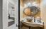 Ground floor half-bath