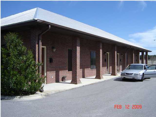 Whole Complex featuring four, independent office condo's for sale directly across from the Destin Executive Airport! Keep one unit for your needs and rent out the rest! All units are currenty occupied by the owner who will vacate upon the sale.