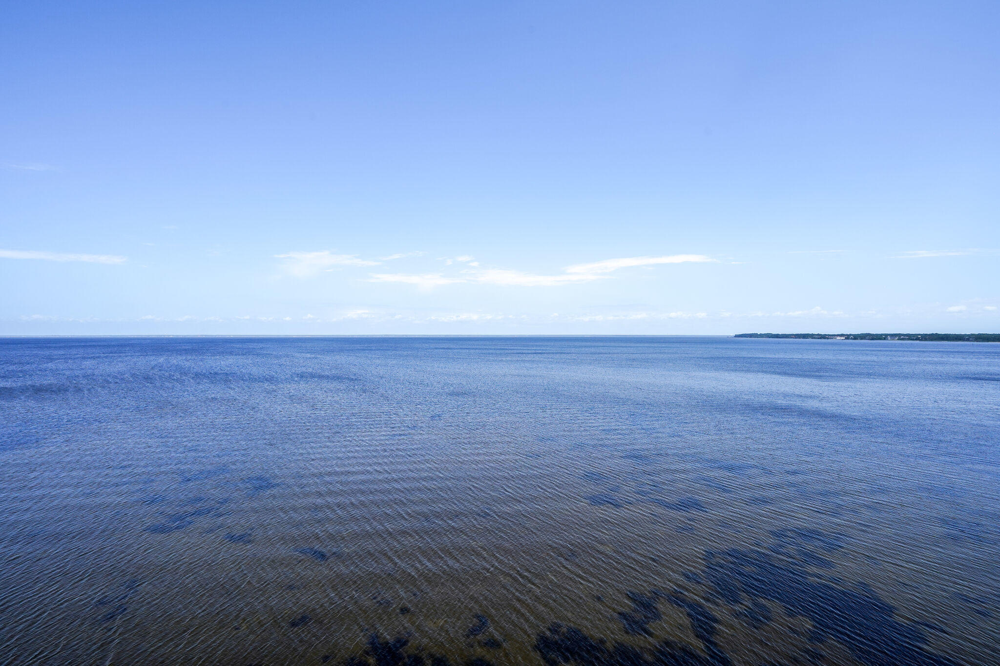 Fantastic views from the west facing balcony of the Choctawhatchee Bay.  Freshly upgraded throughout