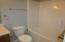 Guest Bathroom Tub/Shower.
