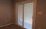 Low-E Heavy duty sliding glass door with built-in blinds that also pull up.