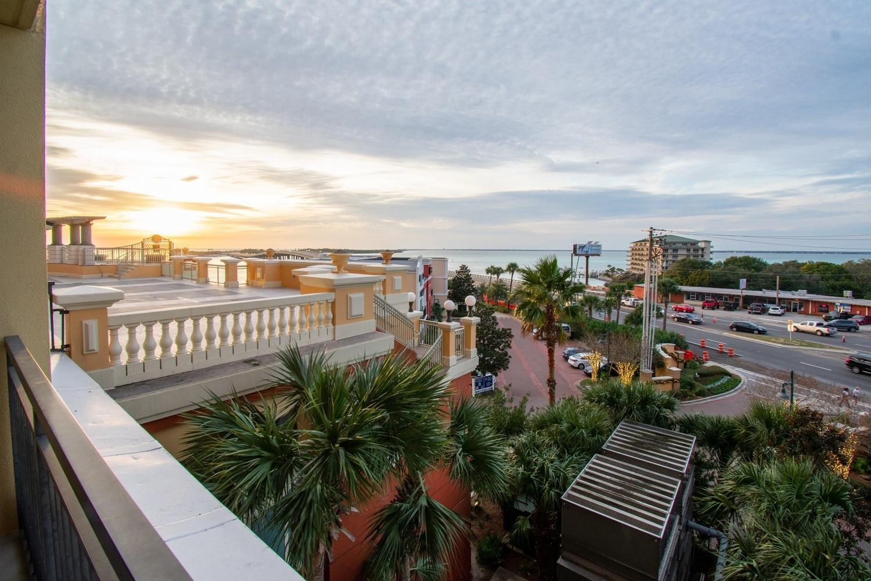 Balcony Sunset View