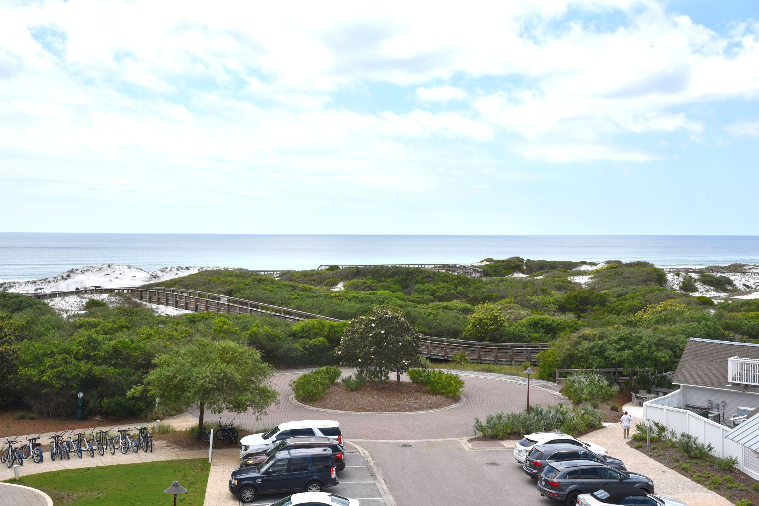 Located in one of the most prestigious communities along the entire Emerald Coast, this spectacular unit offers the top floor, southwest sunset views that have brought all of us to this paradise. Regardless if you wish to keep this hidden gem for yourselves, or enjoy healthy cash-flow, this experience is your windfall for the taking.  This two-bedroom, two-bath condo features a wrap-around balcony overlooking the Gulf, shoreline, community pool and equally beautiful residences.  This quiet, rust