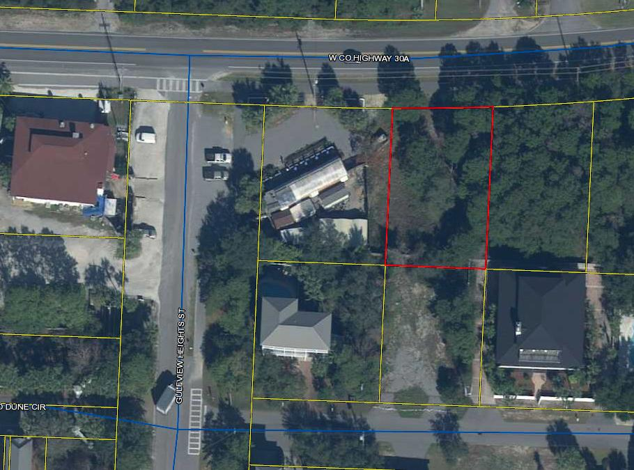 Great location on the south side of 30A.. Nice size lot for multiple options. Can be either residential or commercial.If you need a larger parcel, the adjacent lot could also be purchased.