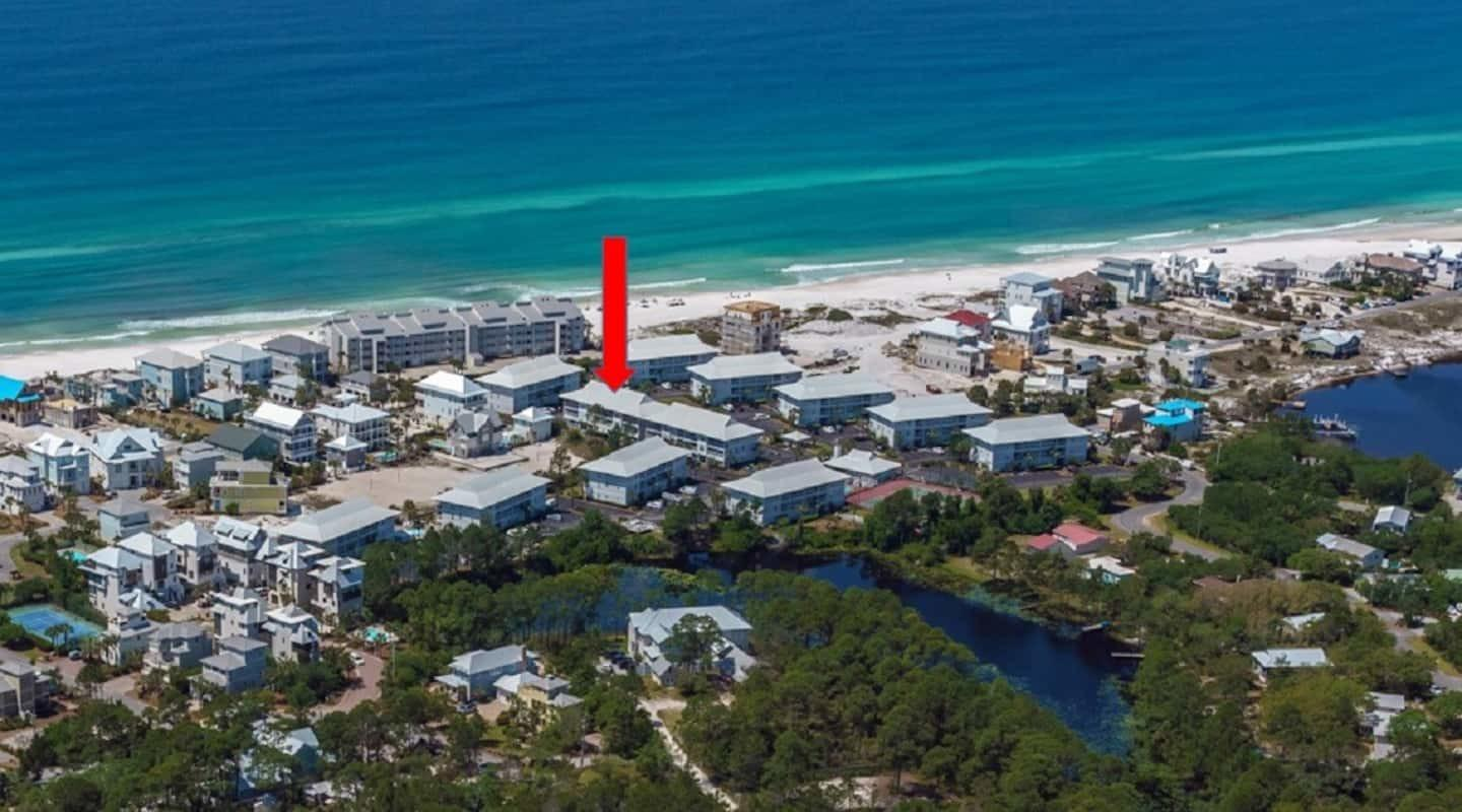 Chance to own a perfect beachside location in highly sought after Beachside Villas.  Recently remodeled and refurnished 2BR/2BTH condo; including brand new washer and dryer (May 2021).  Just steps to the sugar white sands of Seagrove Beach and emerald waters.  Enjoy Beachside Villas private leased 2.5 acre beach just a short walk away.  Easy access to enjoy everything 30A offers, including first-rate dining and luxury shopping.  Great rental property with strong rental history and success.  Over 90% nightly bookings.  Beachside Villas offers great amenities - 2 pools, tennis and pickleball courts, clubhouse, etc.
