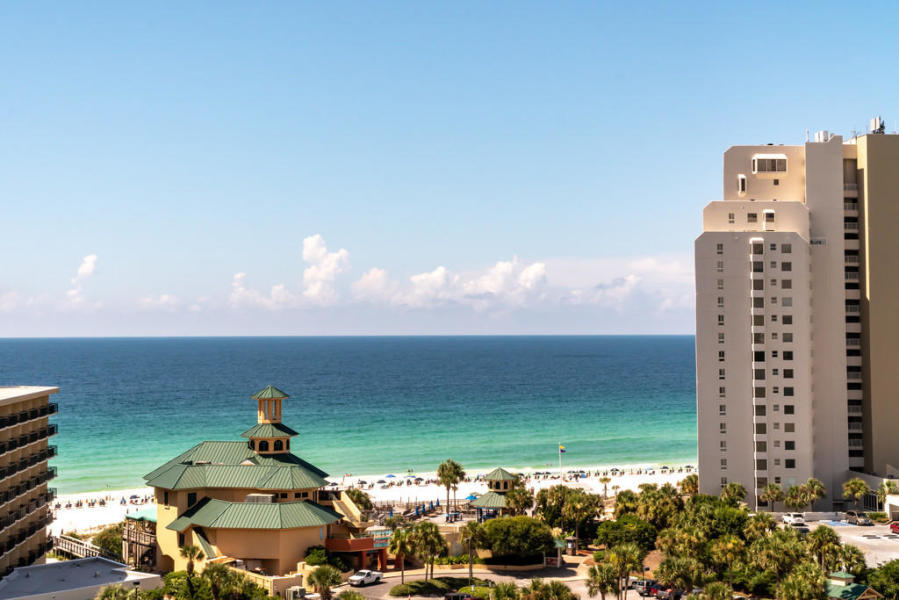 IT's HERE - fabulous 8th floor, two bedroom Luau II lock out condo that is completely renovated and