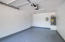 Garage has been updated floors and paint. Great space.
