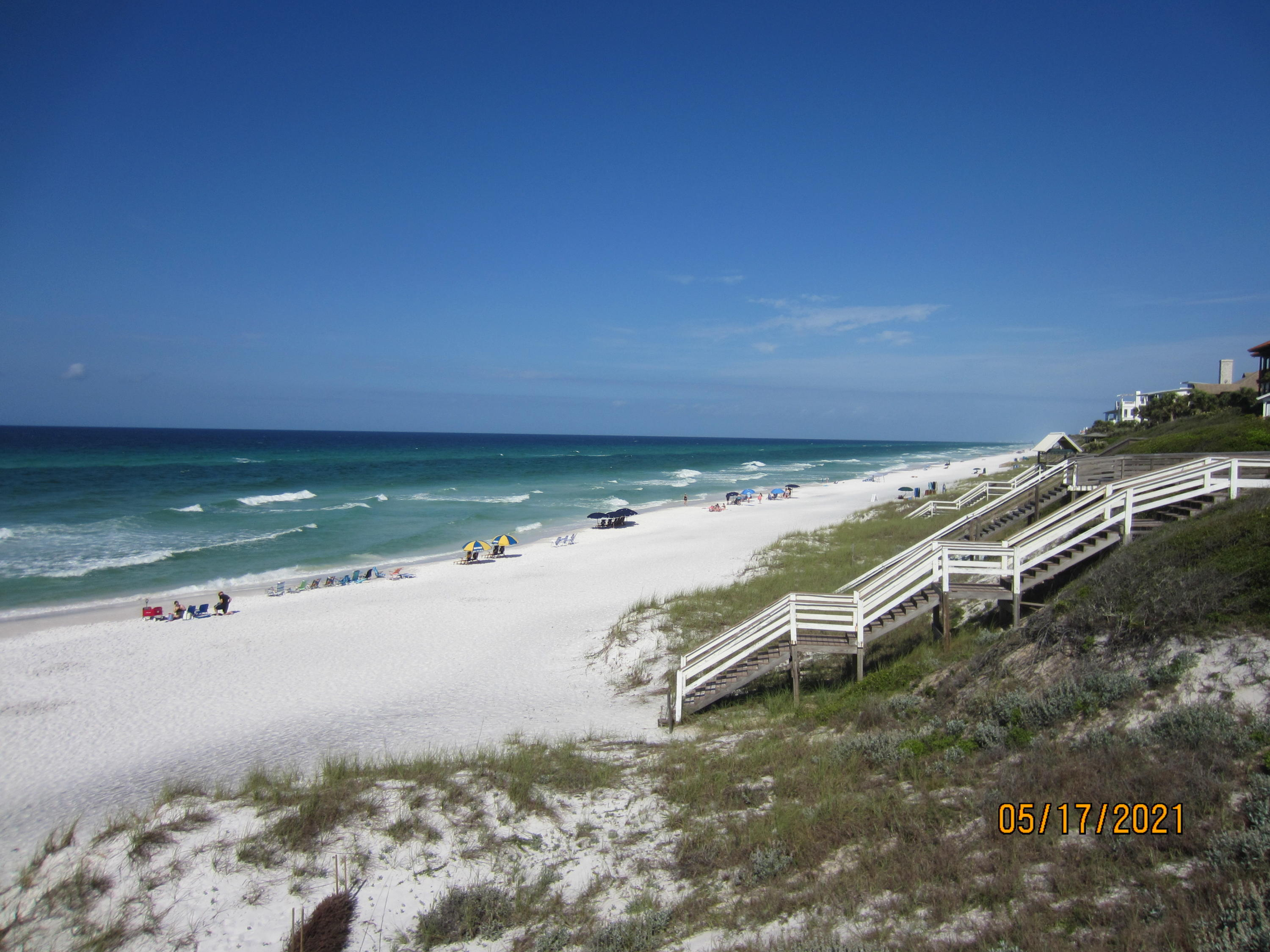 SIX individual residential lots sold together.  Each lot is 50x135.  All six lots are contiguous and located in Block 1 in Gulf Shore Manor Subd.  in Seagrove Beach.  This is a fast developing area along CR 30A about one mile East of the Holiday Town of SEASIDE.  Gulf Shore Manor has four developed Beach Accesses.  These six lots are less than five blocks to the Beach.  There is no HOA that requires membership.  These lots are being sold together and they are undeveloped and sold 'as-is'  Public water and sewer are available thru Regional Utilities.  Block 1 in Gulf Shore Manor borders the Florida State Forest to the North and also to the East.  Approval for the road between Blocks 1 & 2 is received and the road is now being developed.  Quiet location yet near the Beach and 30A.