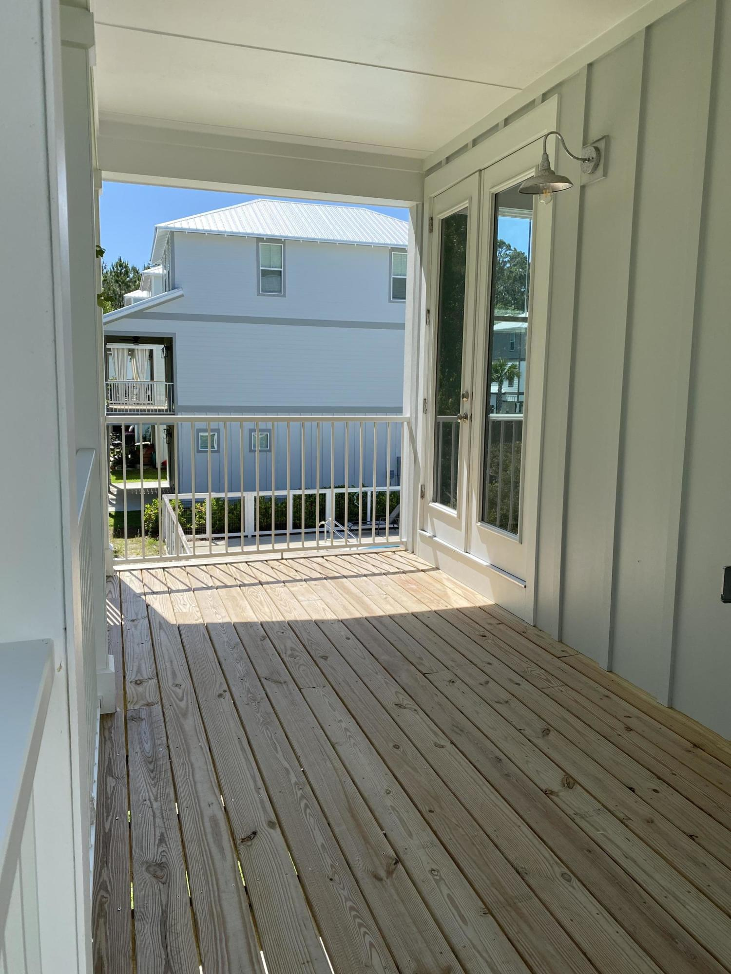 Covered Porch off Living Area